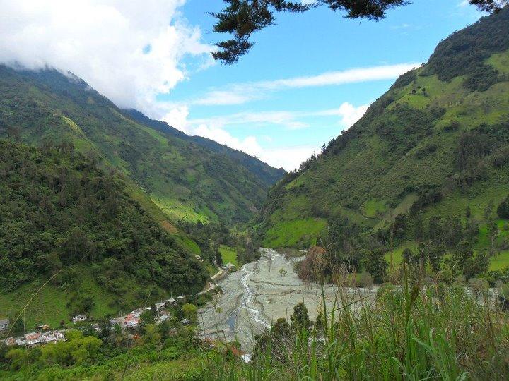 La majestuosidad del Cañón del Combeima. Foto: Archivo personal